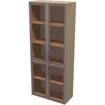 Шкаф для документов ПР601.11 (тонированное стекло)