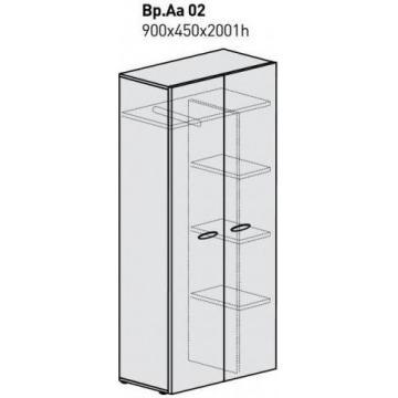 Шкаф для одежды и документов Вр. Аа02