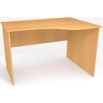 Стол в офис криволинейный БЮ108