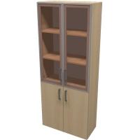 Шкаф для документов ПР601.5 (тонированное стекло)