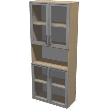 Шкаф для документов ПР601.10 (прозрачное стекло)