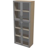 Шкаф для документов ПР601.13 (прозрачное стекло)