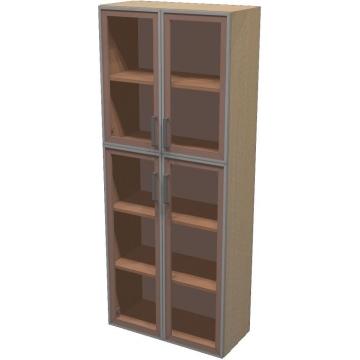 Шкаф для документов ПР601.13 (тонированное стекло)